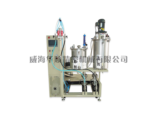 KS-05-50Q雙液真空攪拌涂膠裝置