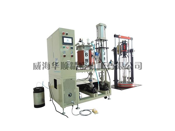 KS-05-50QG雙液真空攪拌涂膠裝置