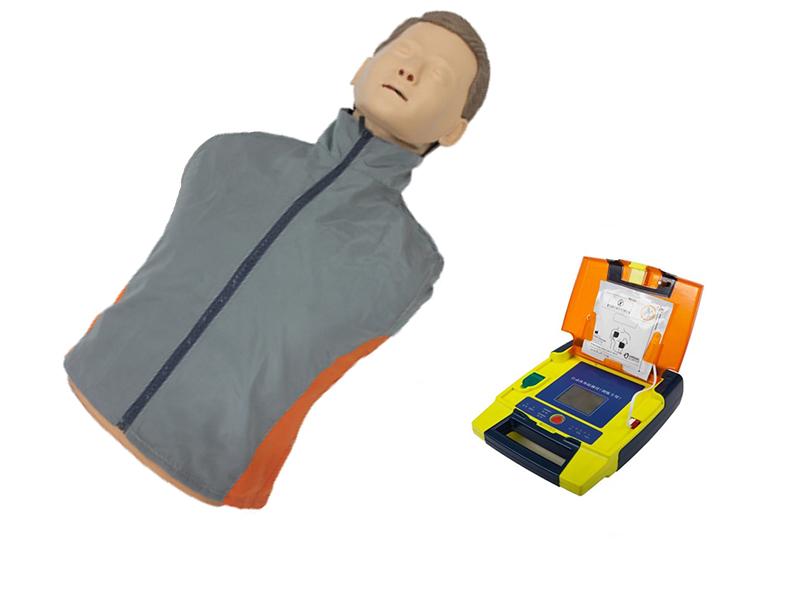 AED98D+自动体外模拟除颤与CPR模拟人训练组合