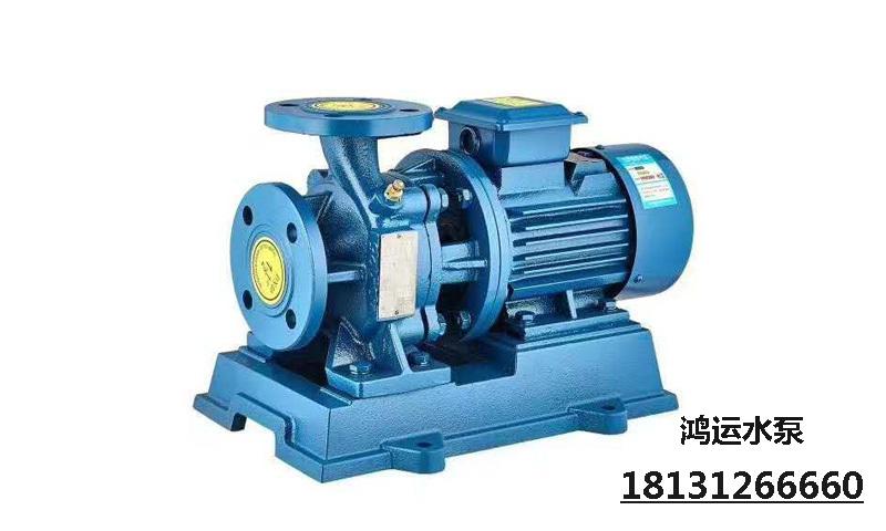 臥式管道增壓泵