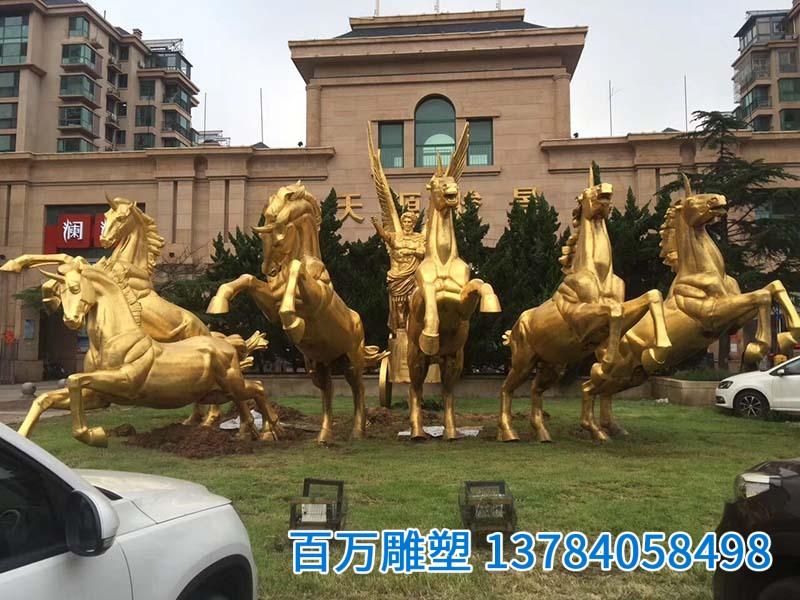 鑄銅動物-鑄銅雕塑-城市雕塑