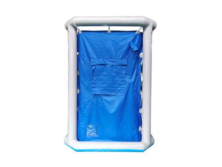 單人洗消帳篷(藍)