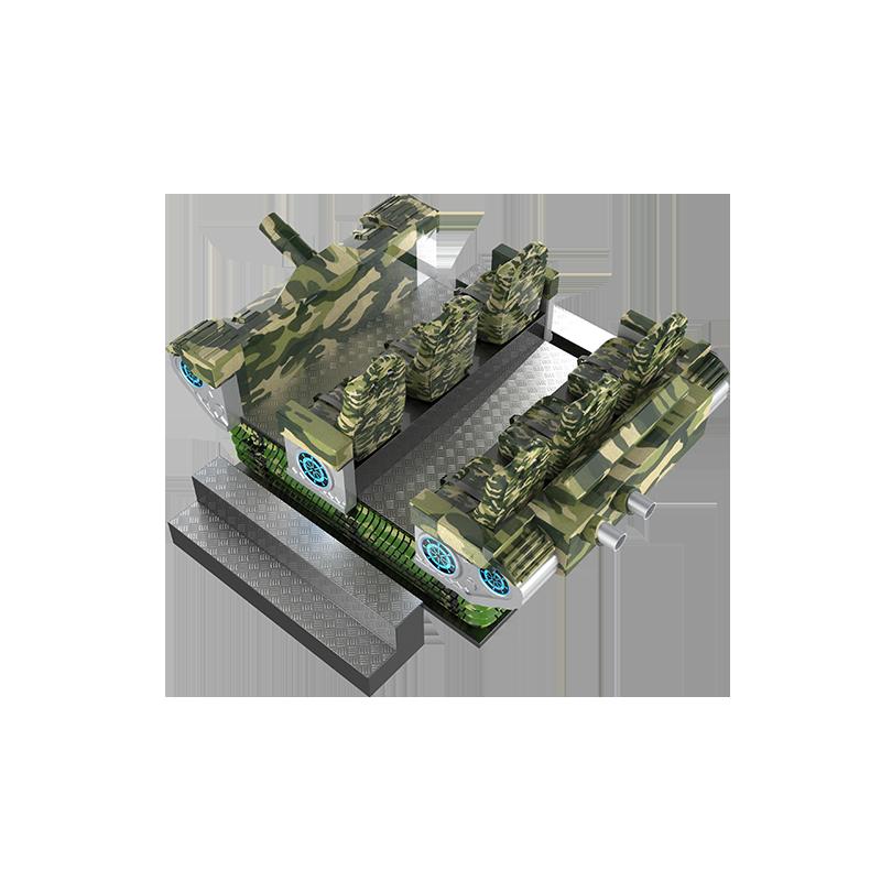 VR軍事競技—六人坦克