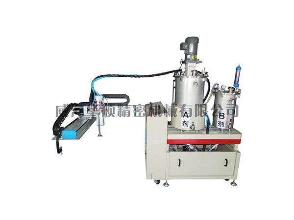 HS-02-20SJ雙液真空攪拌涂膠裝置