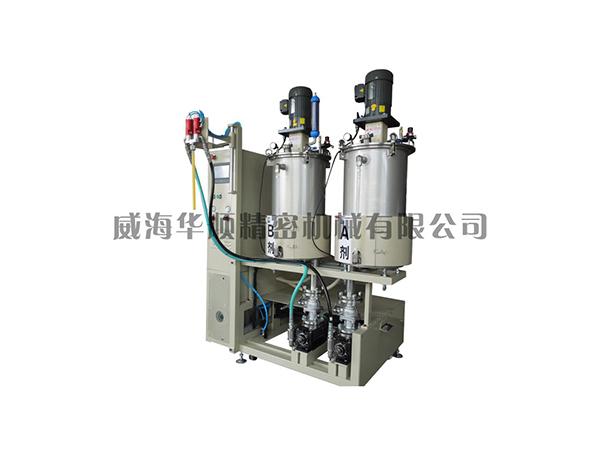 KS-05-50S雙液真空攪拌涂膠裝置