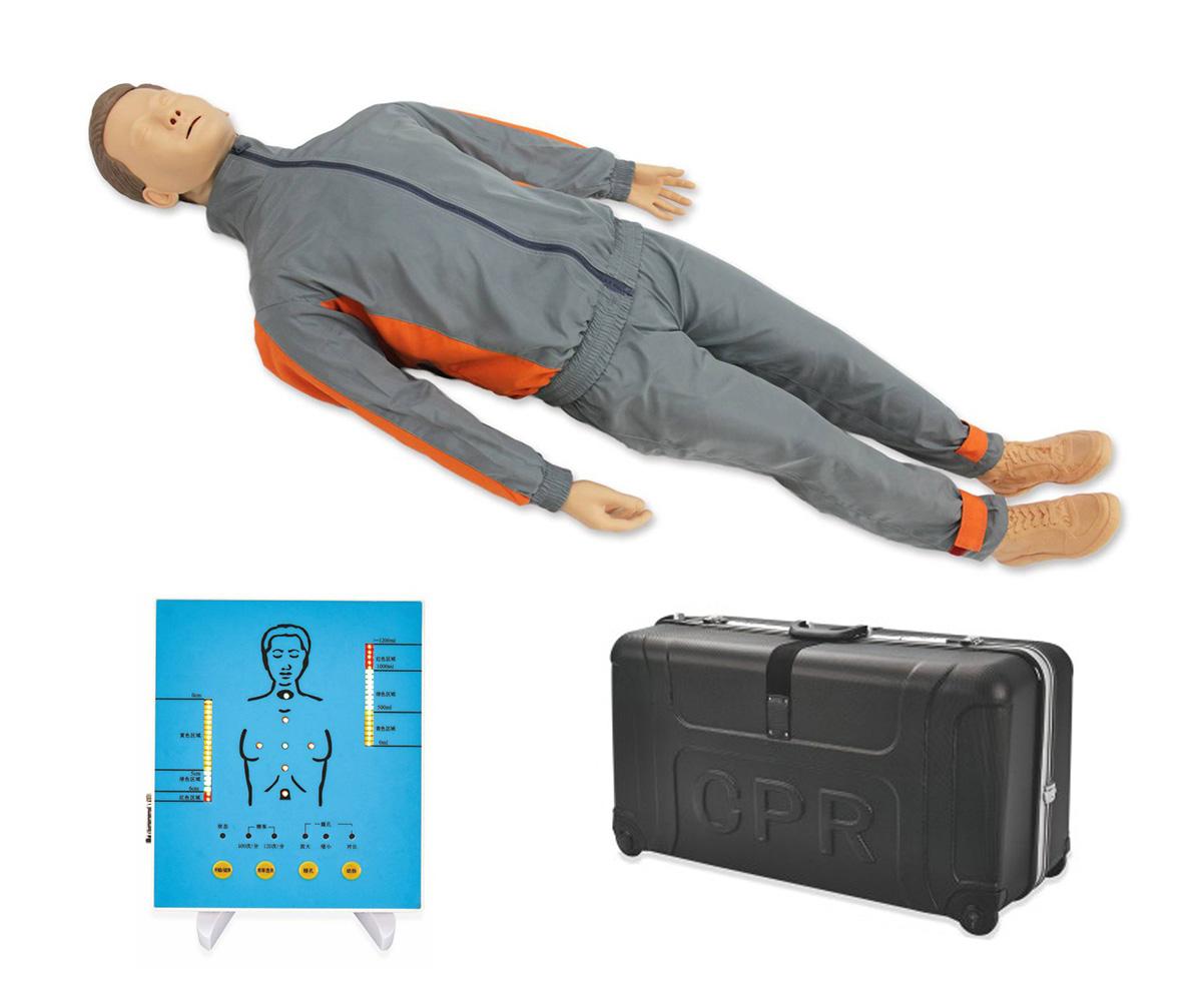 CPR200S高级全身心肺复苏模拟人实战训练机