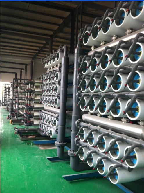 佛山大塘污水处理厂1200T/H中水回用设备系统项目