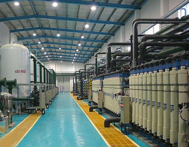 全膜法電廠鍋爐水處理設備系統