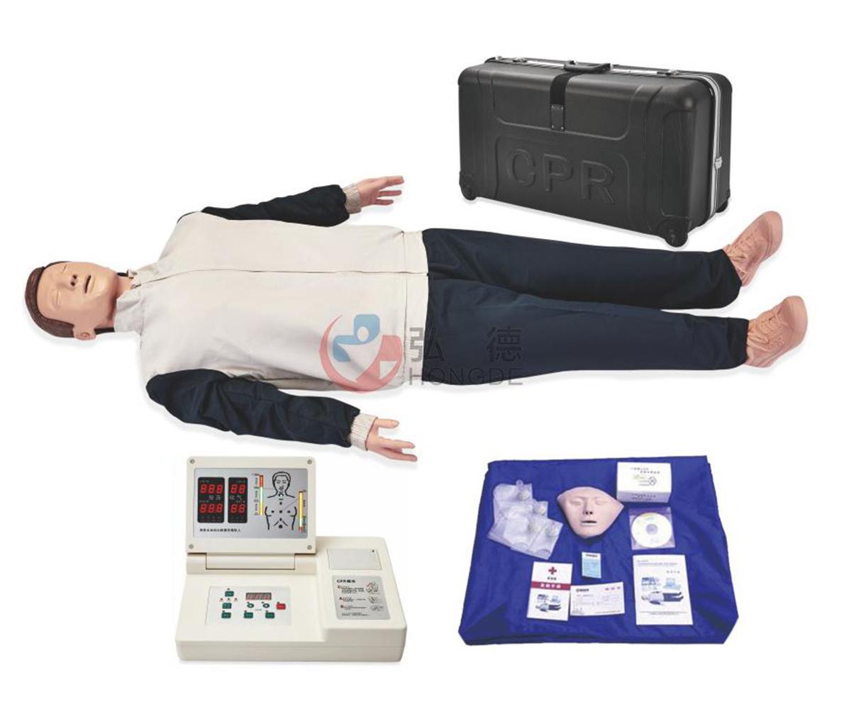CPR490高级全自动电脑心肺复苏模拟人