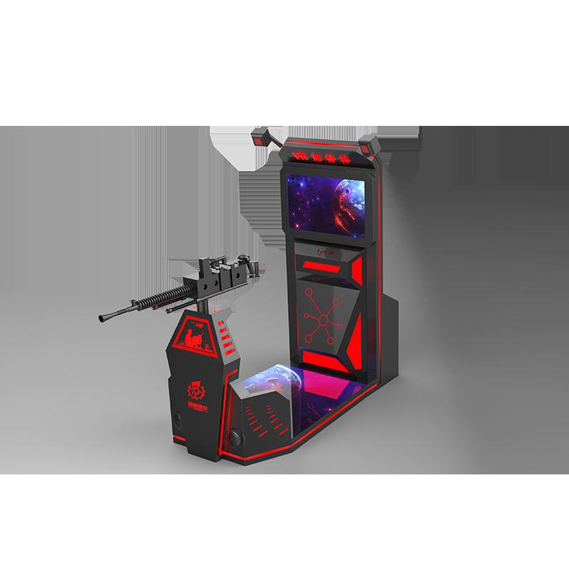 VR軍事競技—加特林實戰