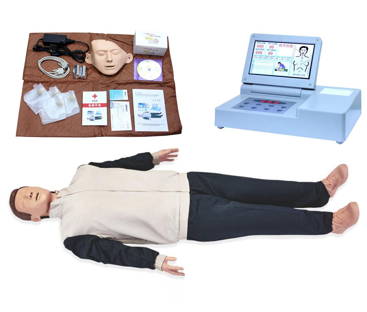 CPR690S大屏幕液晶彩显高级电脑心肺复苏模拟人