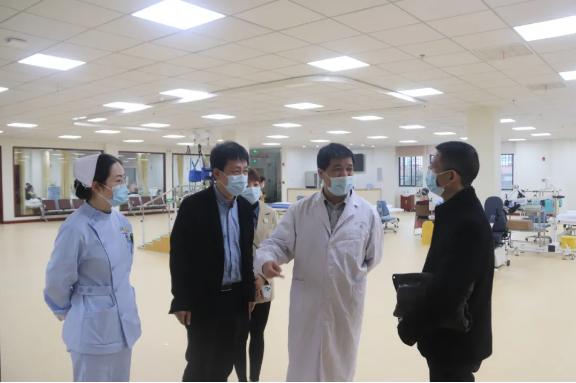 国家级的康复医学专家窦祖林教授 亲临武汉蔡甸 全面布局武汉西部康复中心建设