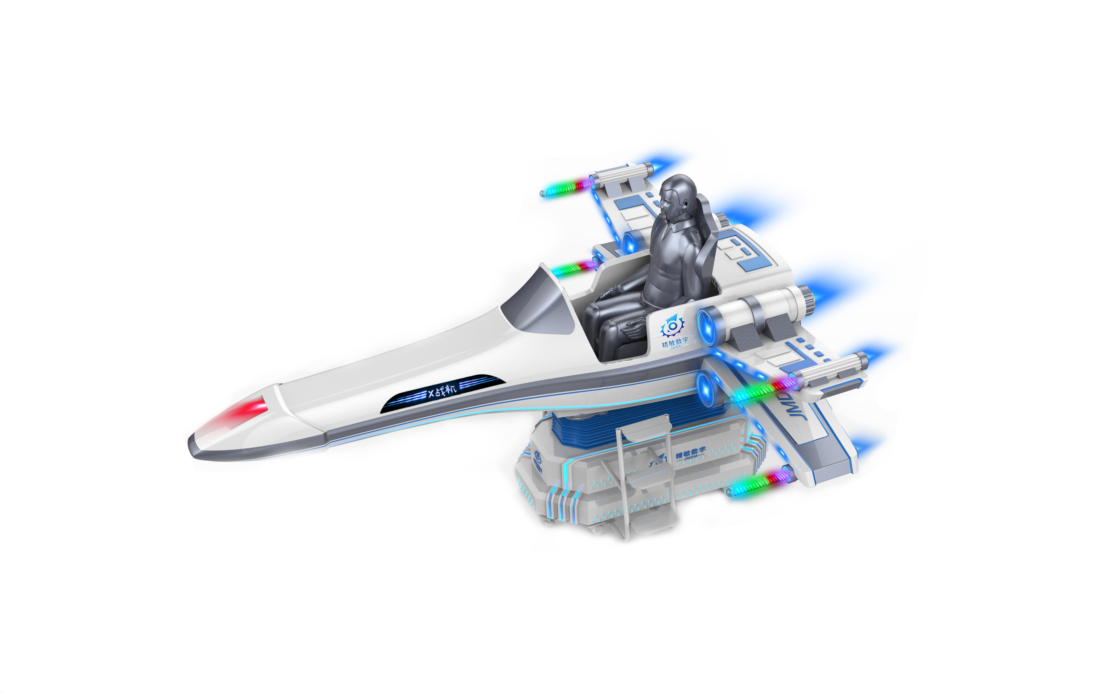 VR航天航空—X戰機