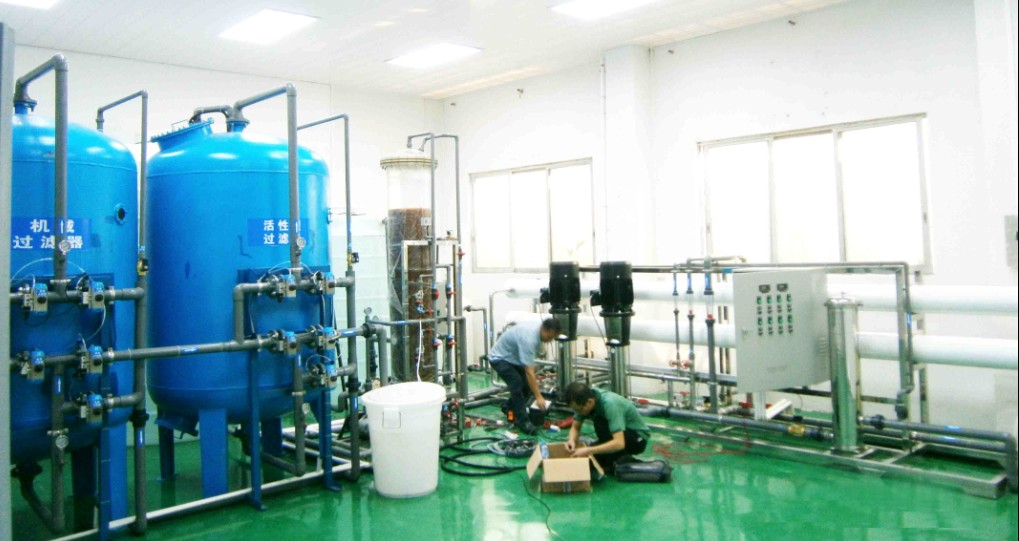 去離子水生產設備